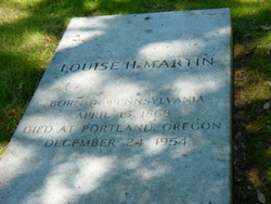 Louise H Martin