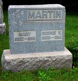 Mary L. <I>Weckbacher</I> Martin