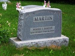 Minnie Isophene Martin