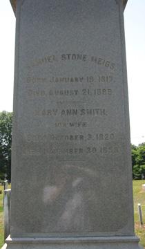 Mary Ann <I>Smith</I> Meigs