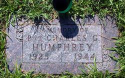 Pvt Charles G. Humphrey