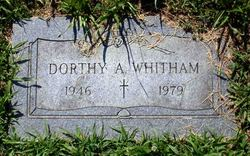 Dorthy A. Whitham