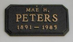 Mae Peters