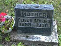 Olive E <I>Corwin</I> Hawkins