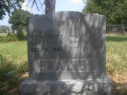 Ruth <I>White</I> Frazier