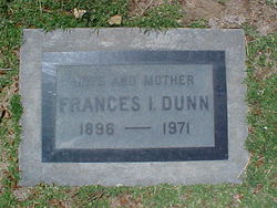 Frances Isabell <I>Copeland</I> Dunn