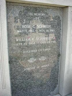 Rose C. Schmidt