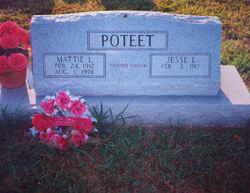 Mattie Lilly <I>Killebrew</I> Poteet