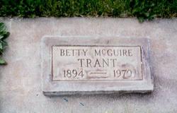 Betty <I>McGuire</I> Trant
