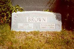Pasqualina <I>Ragna-D'Amato</I> Brown