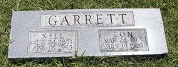 Nell <I>Cooke</I> Garrett