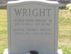 Margie <I>Thomas</I> Wright