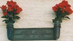 Annie <I>Tomsky</I> Attell