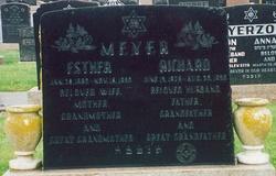 Esther <I>Hollzer</I> Meyer