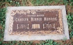 Carolyn Minnie Monroe
