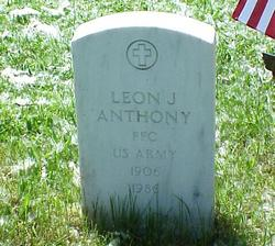 Leon James Anthony