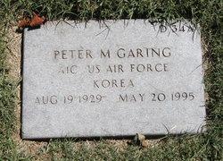 Peter M Garing