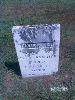 Elvira A. <I>Lee</I> Aldrich