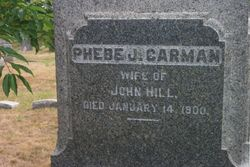 Phebe J. <I>Carman</I> Hill