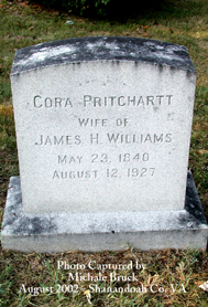 Cora DeMovell <I>Pritchartt</I> Williams