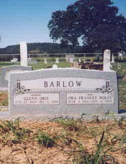 Glenn Oris Barlow