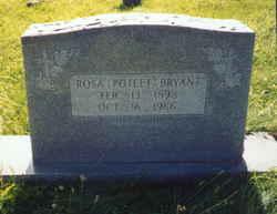 Rosa Lee <I>Poteet</I> Bryant