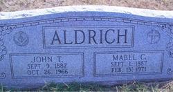 Mabel C. <I>Fitzgerald</I> Aldrich