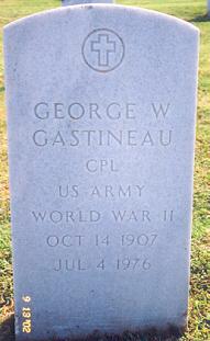 George W Gastineau