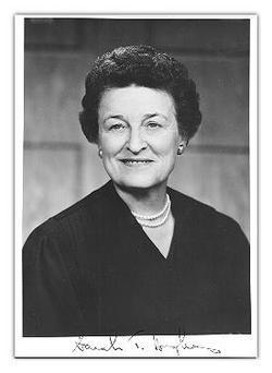 Judge Sarah Augusta <I>Tilghman</I> Hughes