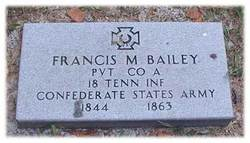 Pvt Francis M. Bailey