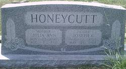 Julia Ann <I>Burke</I> Honeycutt
