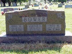 Myrtle Ellen <I>Biggs</I> Bower