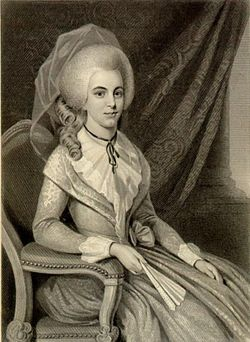 "Elizabeth ""Eliza"" <I>Schuyler</I> Hamilton"