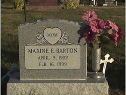 Maxine E <I>Sinks</I> Barton