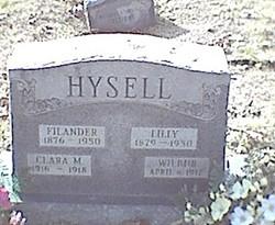Clara M. <I>Hysell</I> Hysell
