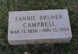 Fannie Irene <I>Bruner</I> Campbell