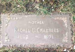 Rachel Edna <I>Shaffar</I> Chambers