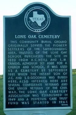 Lone Oak Cemetery