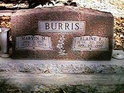 Elaine Ruth <I>Sedlacek</I> Burris