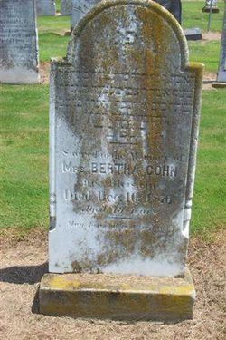 Bertha Cohn