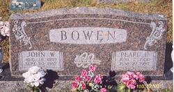 Pearl Evelyn <I>Eoff</I> Bowen