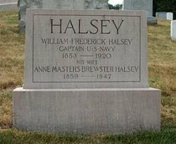 Capt William Frederick Halsey