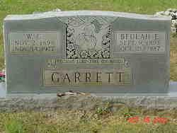 Beulah E. <I>Bates</I> Garrett
