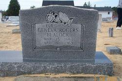 Geneva <I>Rogers</I> Blalock