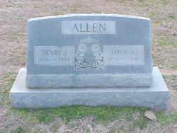 Lola A. <I>Barnett</I> Allen