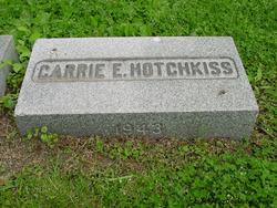 Carrie E Hotchkiss