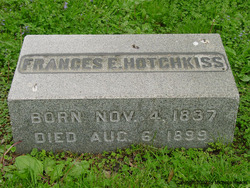 Frances E <I>Dye</I> Hotchkiss