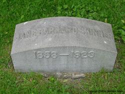 Jane <I>Barnard</I> Skinner