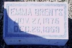 Emma S <I>McCubbin</I> Brents