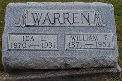 Ida Louise <I>Burdett</I> Warren